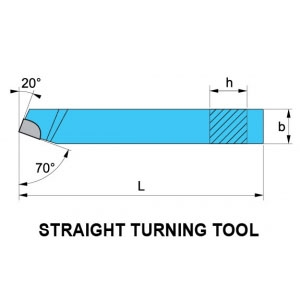 Straight Turning Tool