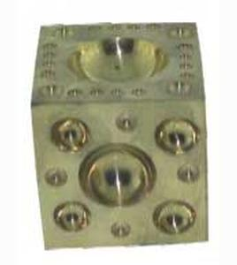 Brass Dapping Blocks