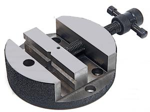 Round Vise for Mini Rotary Table