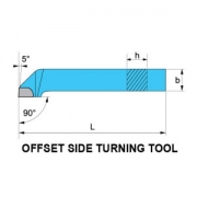 Offset Side Turning Tool