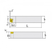 Indexable Tool Holder : SCBCR