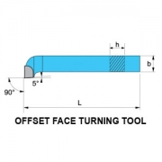 Offset Face Turning Tool