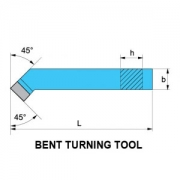 Bent Turning Tool